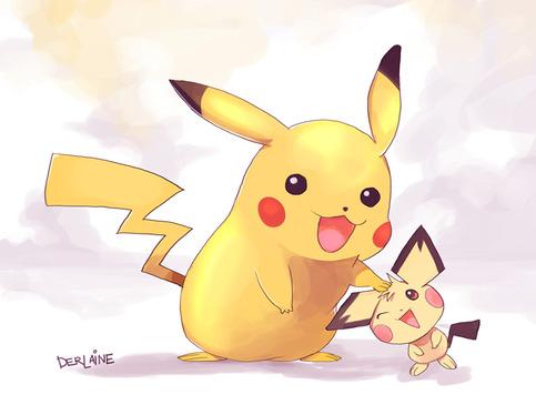 Pikachu And Pichu On Storenvy