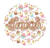 "Personalized Cupcake Plate - 10"" Customized Dinnerware ..."