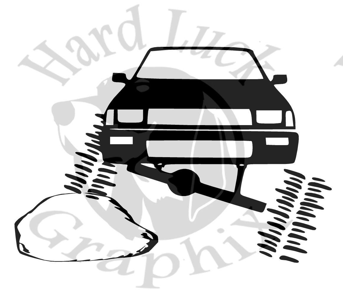 Toyota Rock Crawler 6 Decal Hard Luck Graphix Online