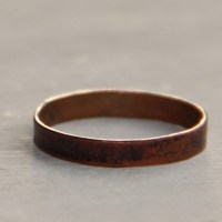 Hammered Copper Ring  Embergrass Jewelry  Online Store ...