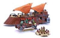 Jabba's Sail Barge - LEGO set #6210-1 (Building Sets ...