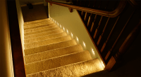 How to Install Motion Sensor LED Stair Lights - Super ...