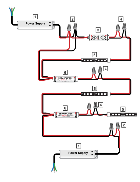 on hogtunes amp wiring diagram