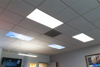 LED Skylight w/ Summer Skylens - 2x4 Dimmable LED Panel ...