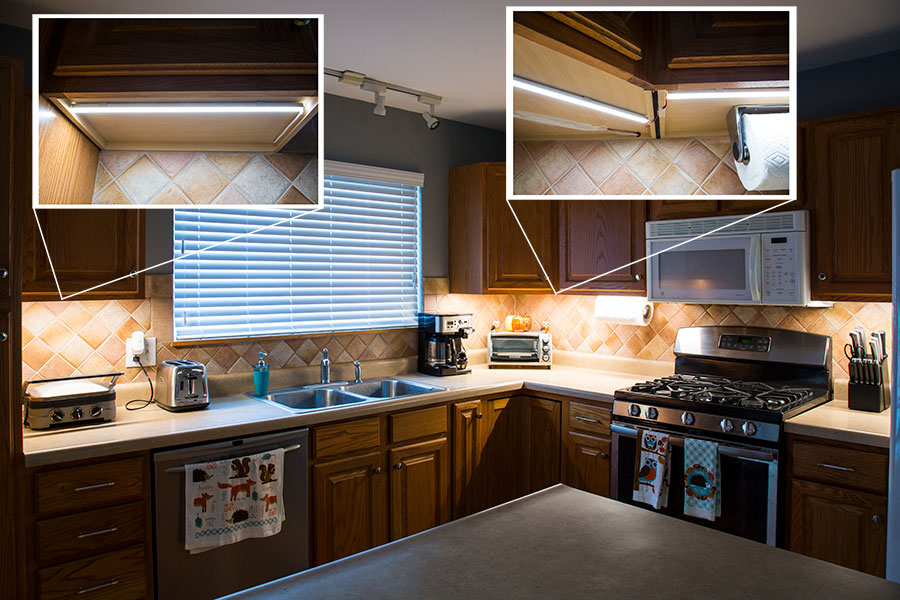 led tape kitchen new ideas 2016 white high cri strip light w plug and 16 4ft 5m density with 81 smds ft 1 chip smd lc2 connector installed aluminum