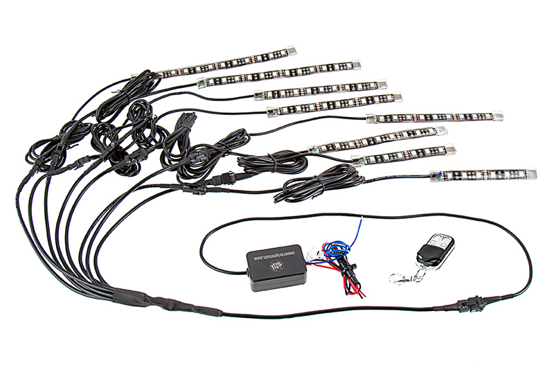 Led Wiring Diagram Multiple Lights On A Motorcycle Wiring