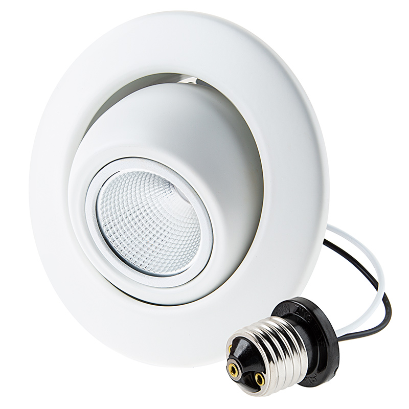 LED Recessed Lighting Kit for 4 Cans  Retrofit LED