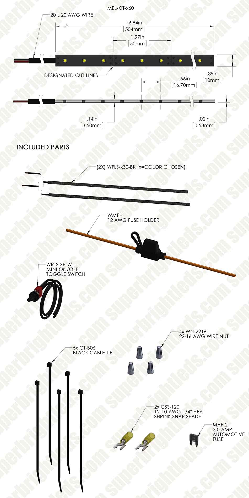 hight resolution of motorcycle engine led lighting kit single color