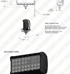 9 quad row heavy duty off road led light with multi beam technology 85w [ 950 x 1900 Pixel ]