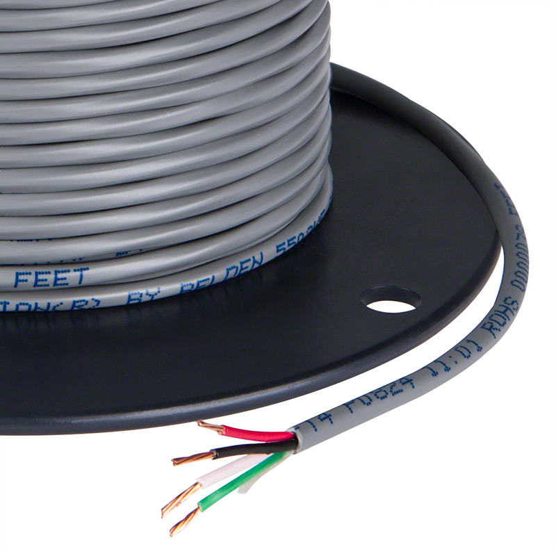 PVC Jacketed 18 Gauge Wire - Four Conductor Power Wire | Super Bright LEDs