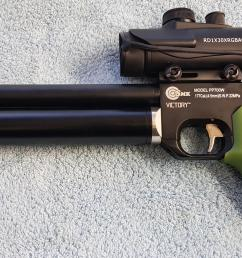 special offergreen grip 700 with sight 190 00 as shown above collected and 213 00 with silencer adaptor fitted  [ 2048 x 1075 Pixel ]
