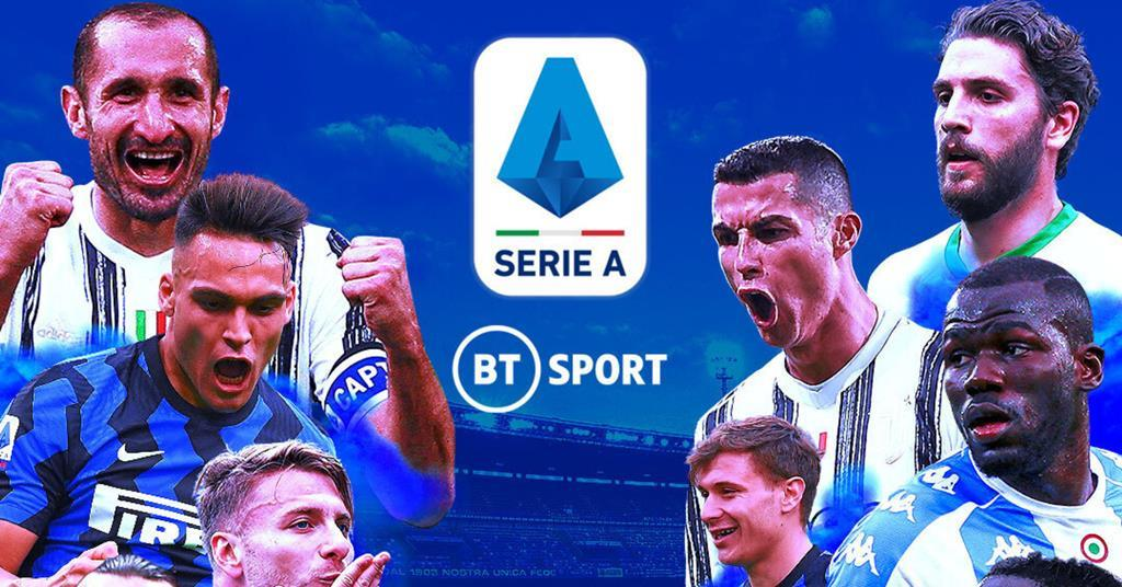 BT Sport to broadcast Serie A until 2024 | News | Broadcast