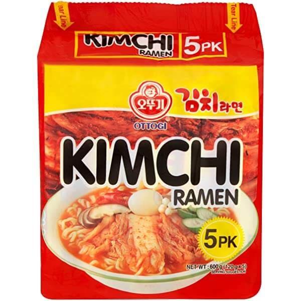 OTTOGI - Kimchi Ramen Multipack 5x120g