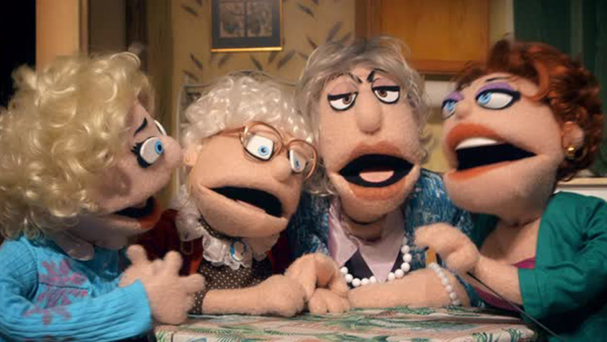 Hot Clip Of The Day Watch As Puppets Recreate The Golden