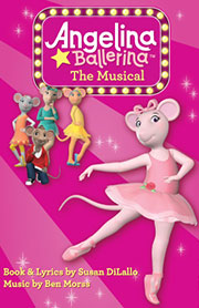 Angelina Ballerina the Musical Discount Tickets  Off Broadway  Save up to 50 Off