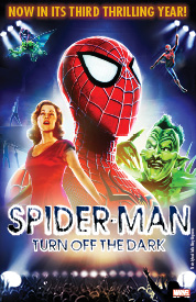 SpiderMan Turn Off the Dark Tickets Reviews  Broadway  Foxwoods Theatre New York NY