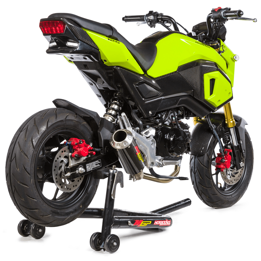 grom msx125 2017 21 mgp growler low mount full system exhaust