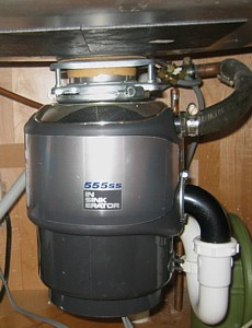 garbage disposals for inspectors