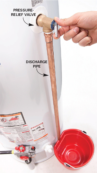 Home Inspections Chattanooga Require TPR or Pressure Relief Valves