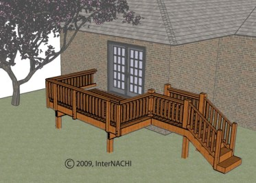 Deck inpection.