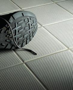 inspecting slip resistant flooring in