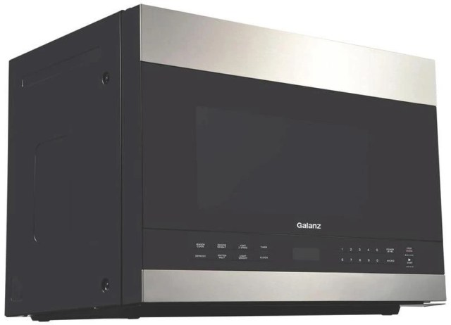 galanz 1 4 cu ft stainless steel over the range microwave glomjd13s2sw 10