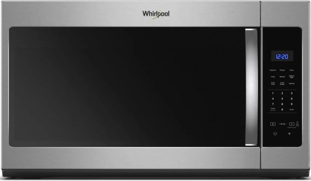 whirlpool over the range microwave stainless steel wmh31017hs