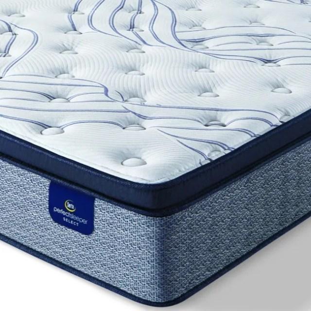 serta perfect sleeper select kleinmon ii pillow top plush queen mattress 500206433 1050