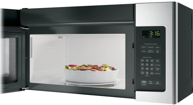 ge over the range microwave stainless steel jvm3162rjss