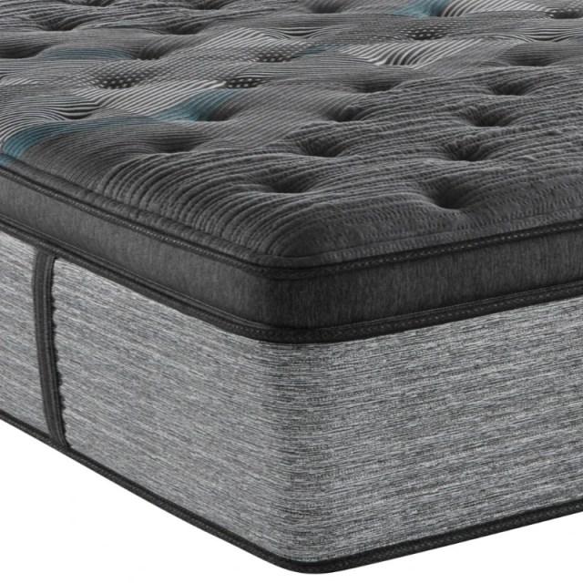 beautyrest harmony lux diamond series ultra plush pillow top queen mattress 700810913 1050