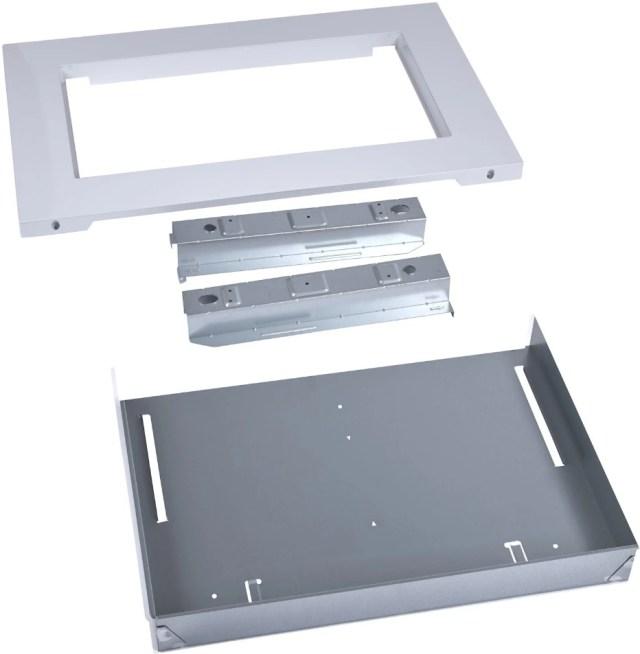 maytag 30 white built in microwave trim kit mk2160aw