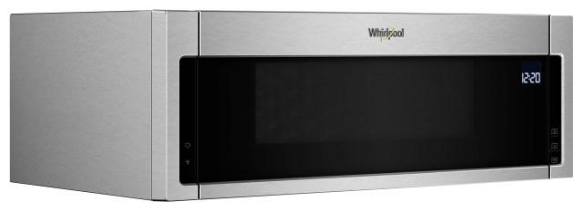 whirlpool over the range microwave fingerprint resistant stainless steel wml75011hz