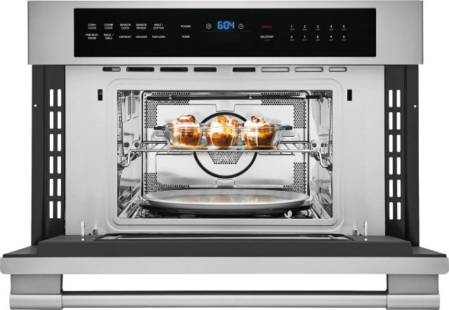 frigidaire professional 1 6 cu ft stainless steel built in microwave fpmo3077tf