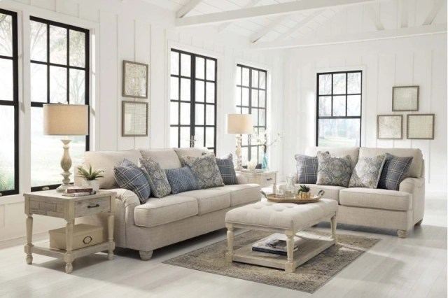 ashley traemore 7 piece living room