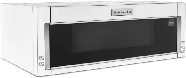 kitchenaid 1 1 cu ft white over the range microwave hood combination kmls311hwh