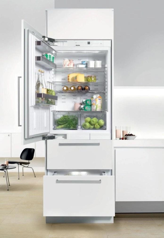 Miele 14 1 Cu Ft Custom Panel Bottom Freezer Refrigerator Kfn9855ide Albert Lee Seattle Tacoma Bellevue