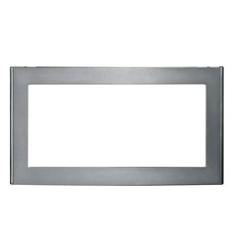 ge 30 deluxe built in microwave oven trim kit jx830sfss display