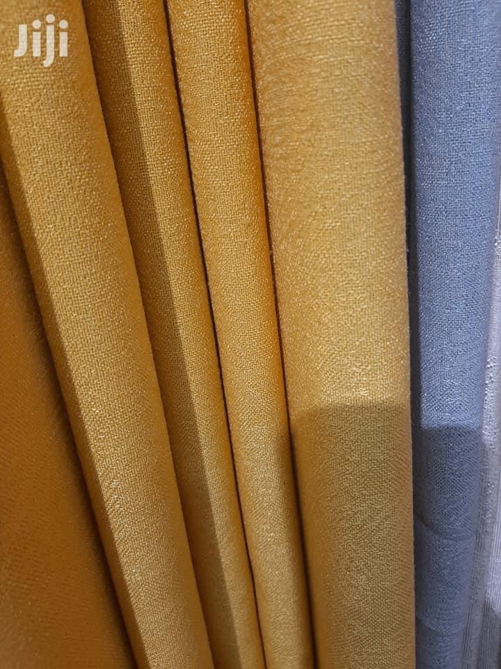 colorful linen curtain fabric for living room
