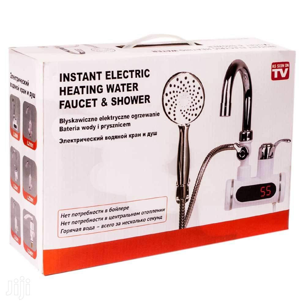 instant water heater shower faucet
