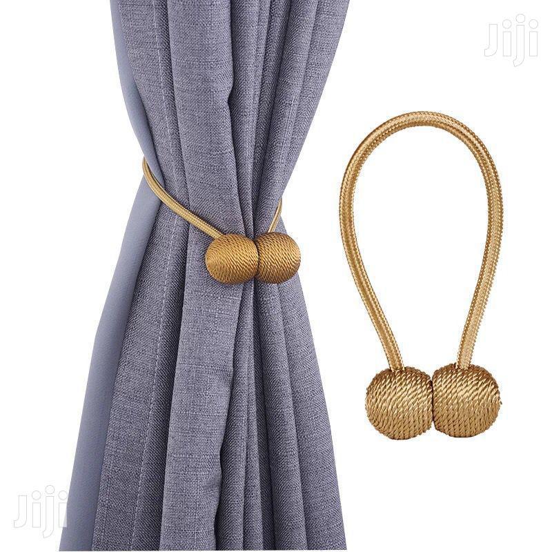 deluxe dorm metal curtain tie back