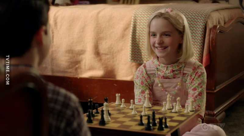 God please let her show up in The big bang theory, as adult Paige, putting adult Sheldon in his place.