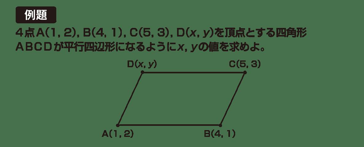 高校數學b 平行四辺形とベクトル 例題編 映像授業のtry It