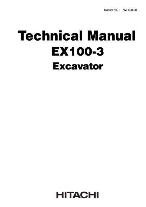 Kobelco SK60-V, SK60-5 Hydraulic Excavator Shop Manual