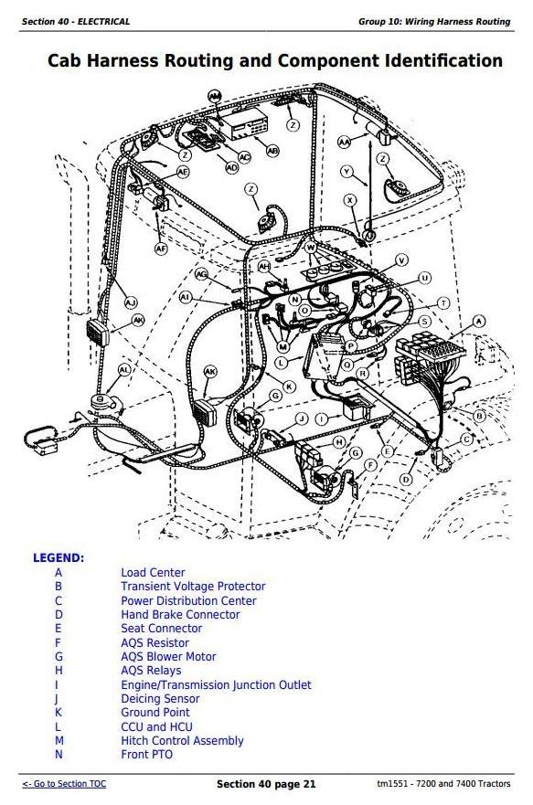 John Deere 7400 Tractor Manual The Best Deer 2018