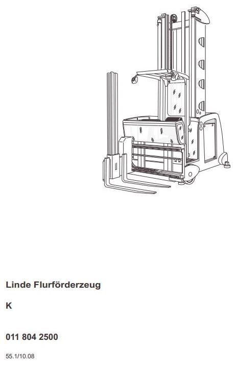 Still Electric Lift Truck Type R50-10, R50-12, R50-15: