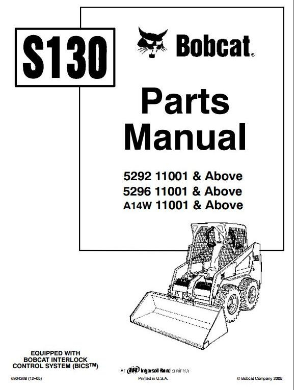 Bobcat Skid Steer Loader Type S300: S/N 531111001 & Ab