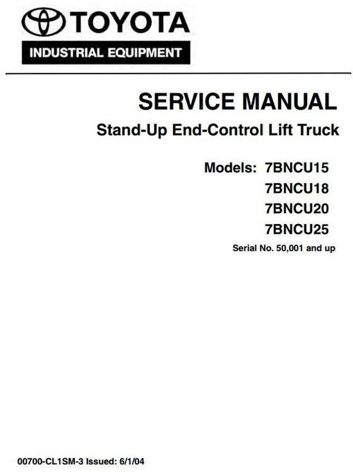 Crown TSP6000 Series Turret Order Picker Service Repai