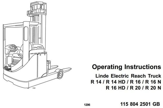 Still Diesel Forklift Truck Type RX70-40D, RX70-45D, R