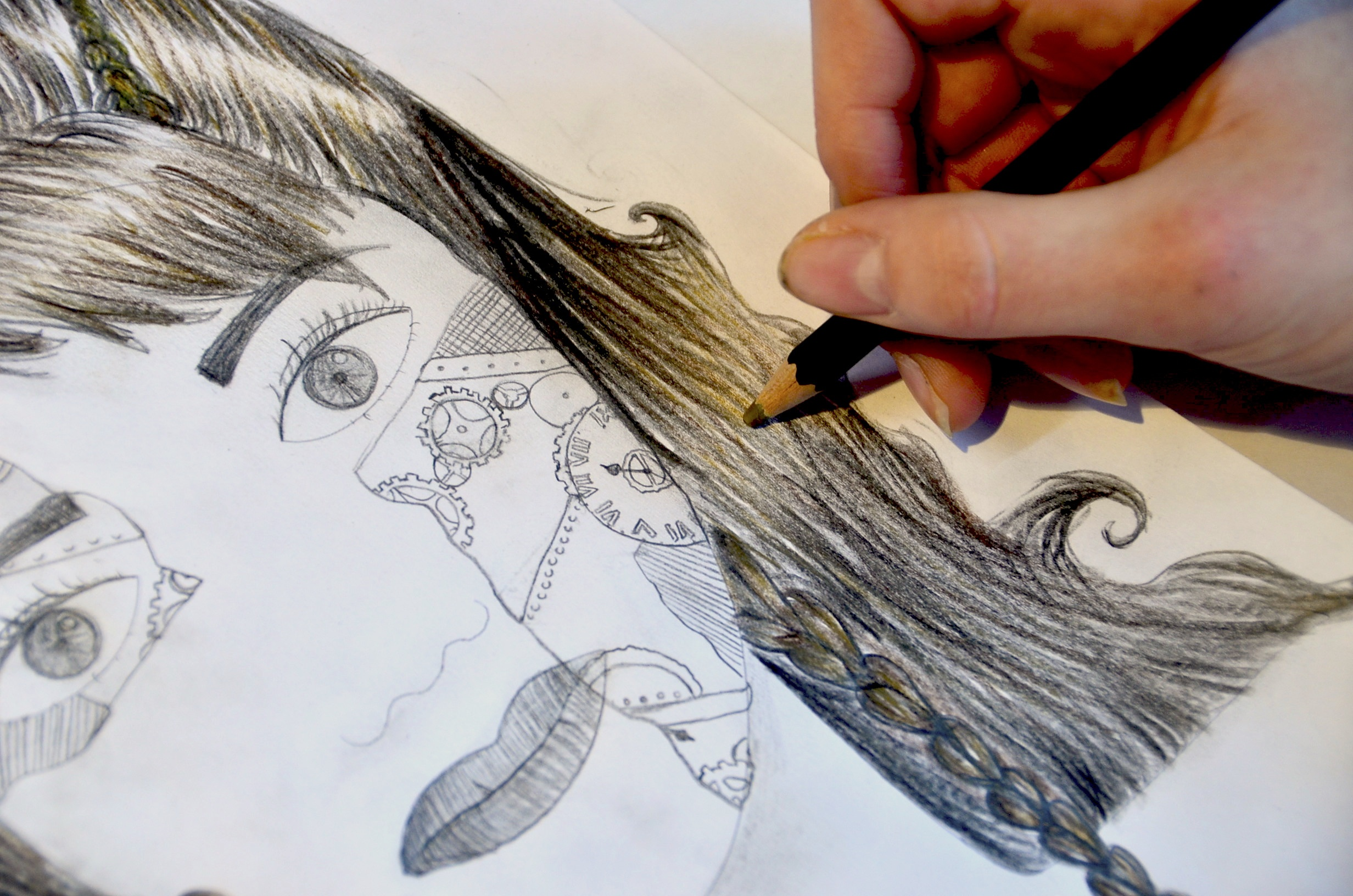 Drawing A Face Worksheet