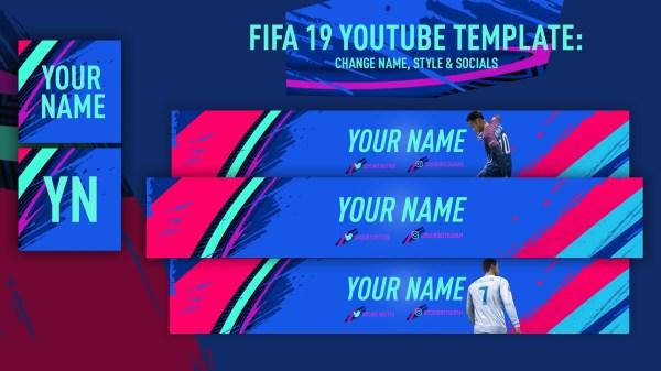 Fifa 19 Youtube Template Rickfut